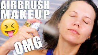 AIRBRUSH MAKEUP TESTED ... OMG!!!