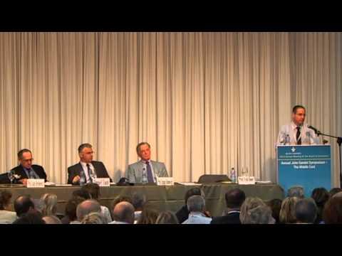Annual John Gandel Symposium- The Middle East- The Delegitimization of Israel as a Strategic Threat