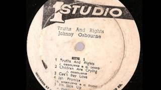 Johnny Osbourne ‎-- Truths And Rights  ( full album) Studio One ‎-- SOLP-0132