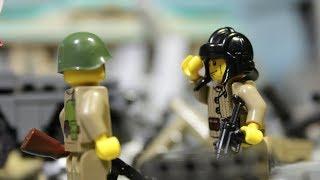 LEGO WW2 stop motion BATTLE FOR BERLIN 1945 / ВЗЯТИЕ БЕРЛИНА 1945, Лего мультфильм