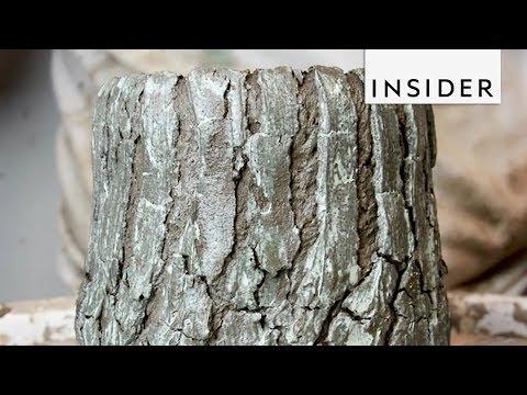 Artist Makes His Ceramics Look Like Tree Bark