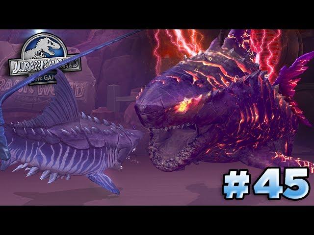 MEGALODON BOSS COLOSSUS 04!!!    Jurassic World - The Game LAGOON - Ep45 HD