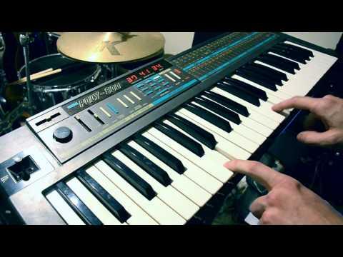 Korg Poly-800 Synth + Strymon BigSky Reverb