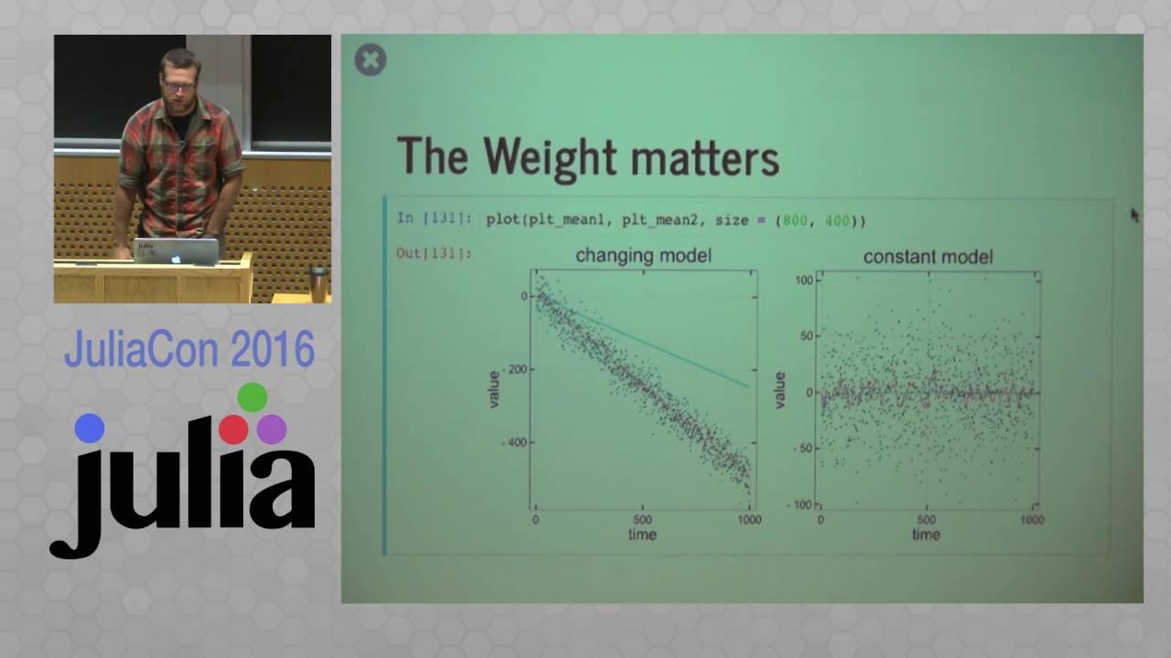 juliacon 2016 onlinestats jl statistics for streaming and big data josh day the julia language