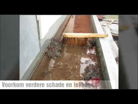 Vaak Dakgoot repareren - YouTube AW46