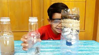 DIY WATER FILTER FROM PLASTIC BOTTLE PENYARINGAN AIR MENGGUNAKAN BOTOL BEKAS