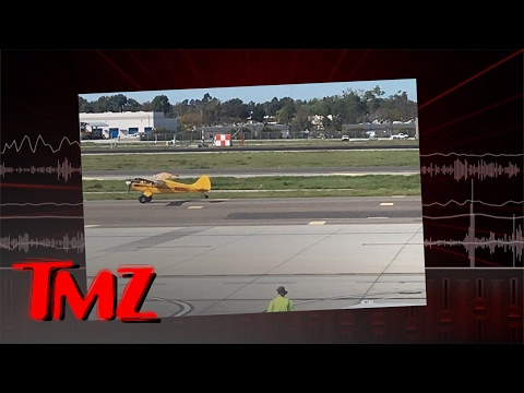 HARRISON FORD 'I'M THE SCHMUCK WHO LANDED ON THE TAXIWAY' | TMZ