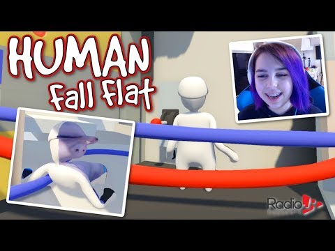 Human Fall Flat | Funny Power Plant Play!