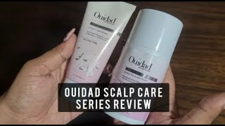 OUIDAD READY, SET, CLEAN SCALP + HAIR RINSE & HEAVY LIFTING BUBBLE SCALP MASK REVIEW
