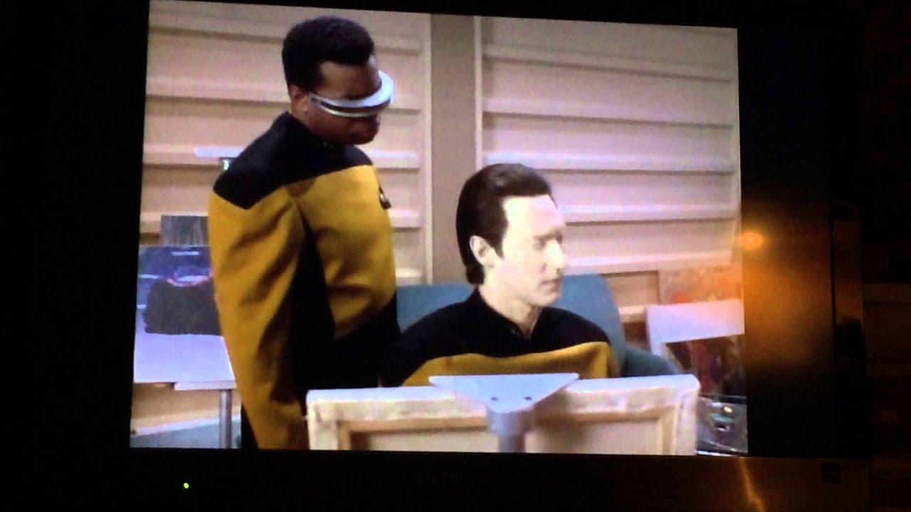 Star Trek: The Next Generation - Data Paints!