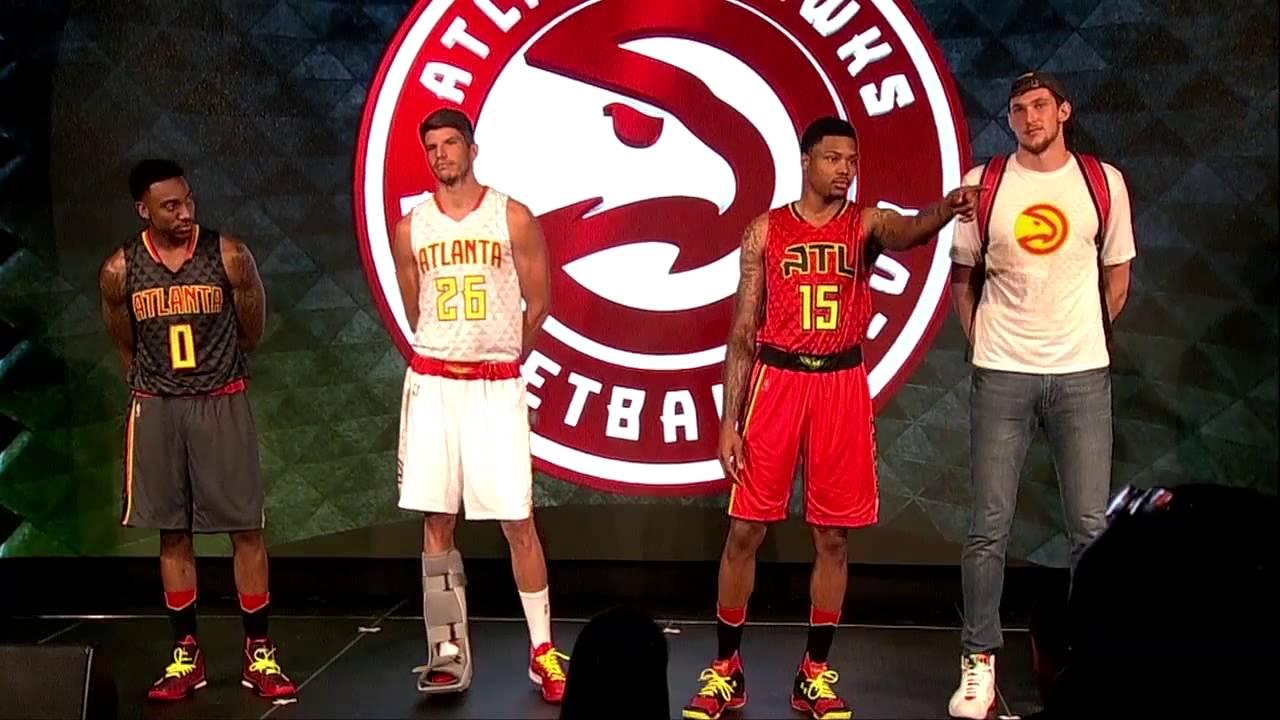 Hawks Players QA Uniform Unveil