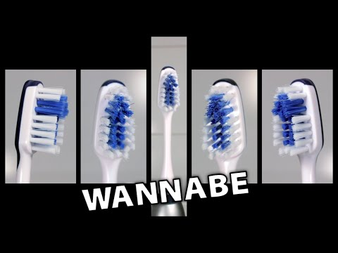 Spice Girls - Wannabe on 5 Electric Toothbrushes