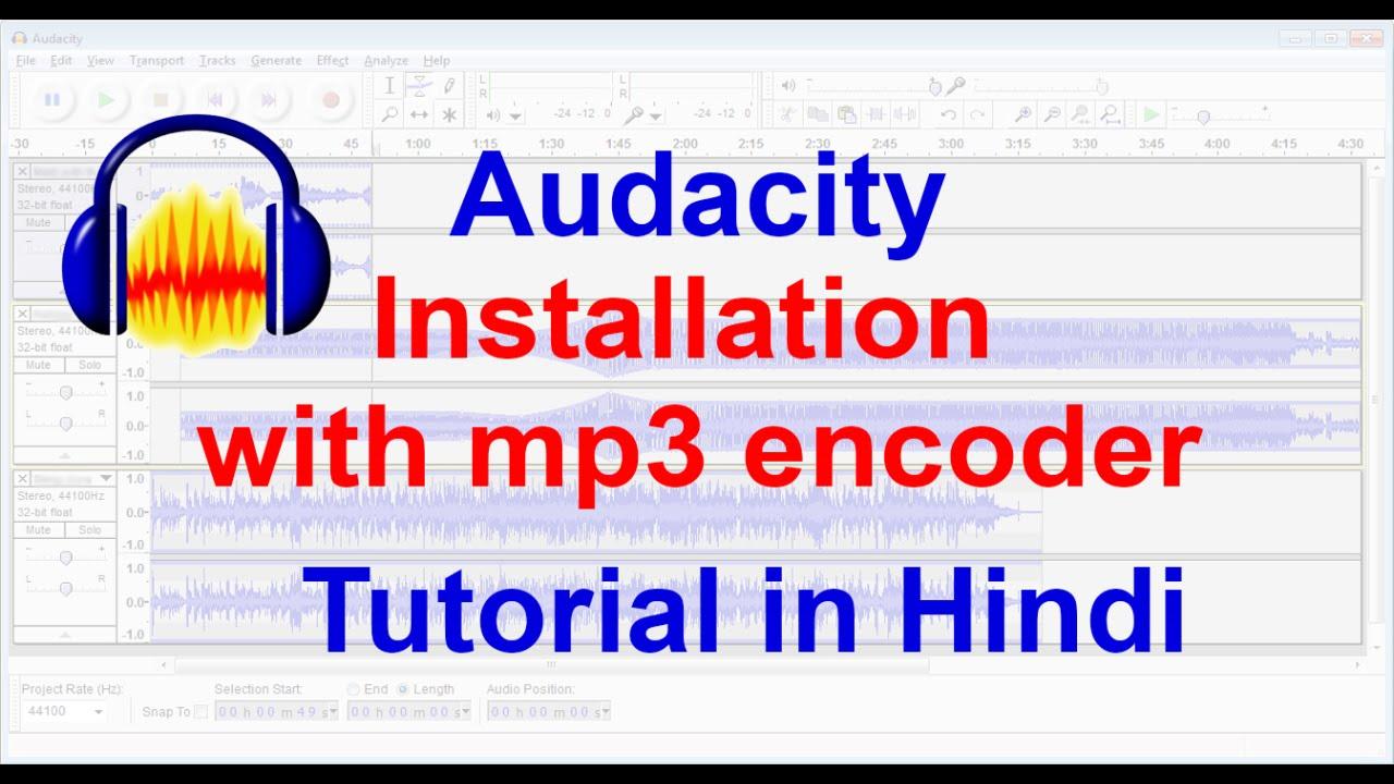 Mp3 Encoder Audacity