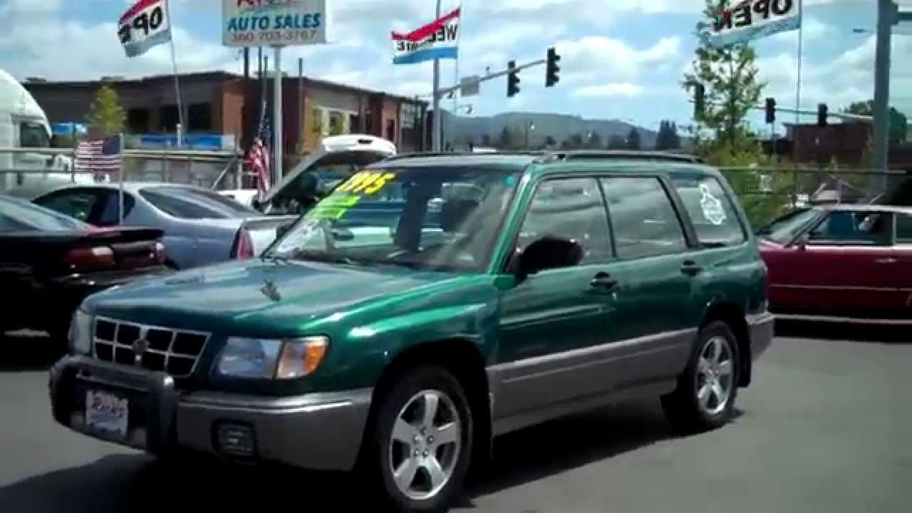 1998 subaru forester sold!! - youtube