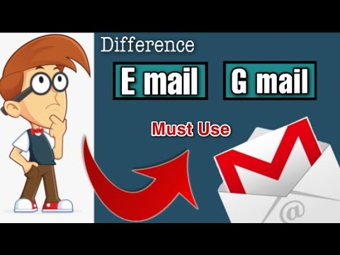 How we can difference between email or gmail    Imsubhan   