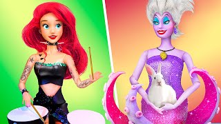 12 DIY Barbie Hacks and Crafts / Mermaid and Ursula