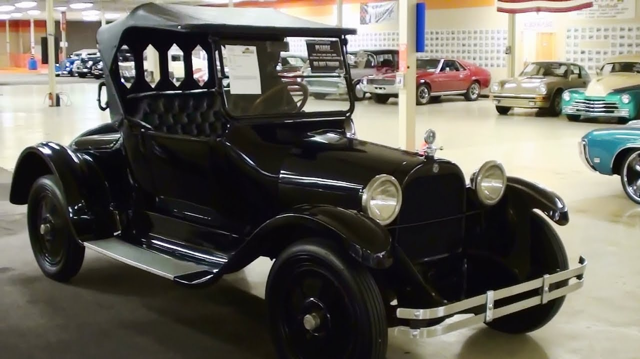 1921 Dodge Brothers Roadster - YouTube