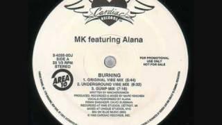 MK - Burning (MK Extended Remix)
