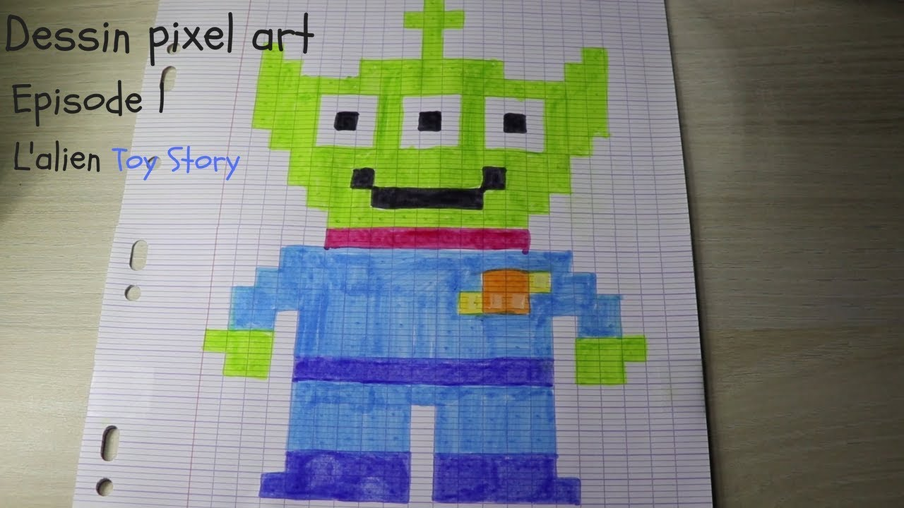 Pixel Art Episode 1 Lalien Toy Story