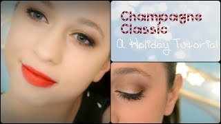 Champagne Classic & Bold red lips Thumbnail