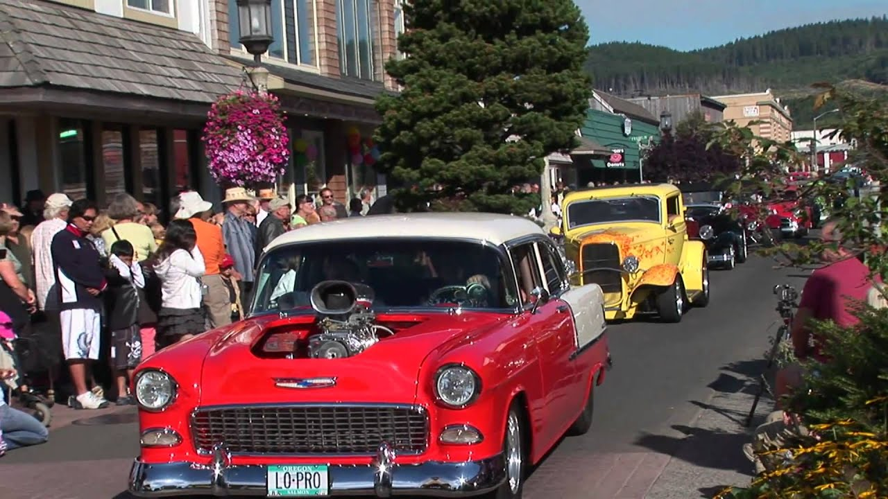 Wheels And Waves Classic Car Show Seaside Oregon YouTube - Seaside oregon car show