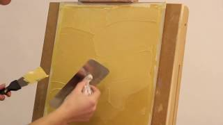 Мастер-класс - нанесение декоративной штукатурки Мокрый шелк ВГТ