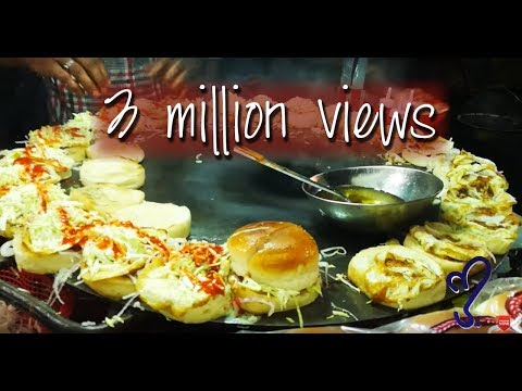 Angry burger, Bun Kabab Street Food Of Karachi, Pakistan