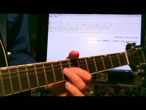 Guitar lessons online Black Sabbath War Pigs tab