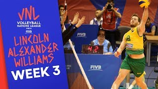 Lincoln Alexander Williams: 28 Points against Japan | Volleyball Nations League 2019