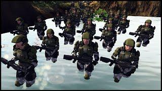 UNSC Halo Marines Jungle Assault! - Men of War: Halo Mod Battle Simulator
