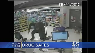 Walgreens Installs Safes To Prevent Prescription Pill Robberies