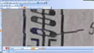 Векторизация схемы. компас-2D