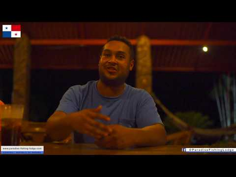 Paradise Fishing Lodge, Panama Introduction & Interview Lodge's Operation Manager / 4K Full HD