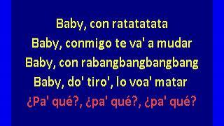 6ix9ine ft. Anuel Aa - BEBE (karaoke)