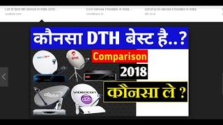 Best DTH Set Top Box In India 2018, Compare DTH Set Top Boxes  Best DTH Konsa Hai Best Set top Box ?