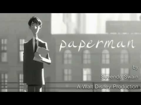Paperman bollywood song mashup.