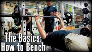The Basics: How To Bench | OpTic Strength