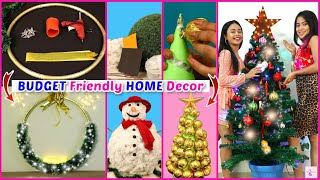 BUDGET Friendly HOME DECOR Ideas & DIYs for Christmas | DIYQueen