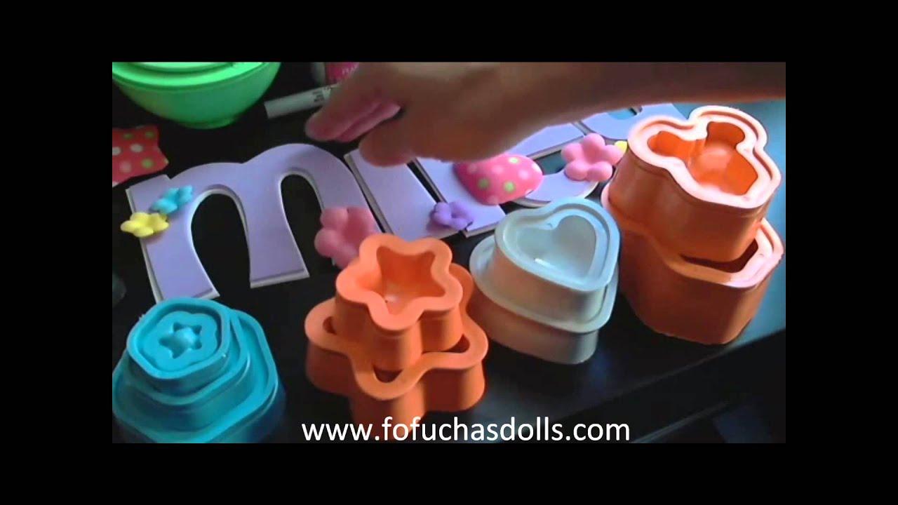 moldes goma eva foamy