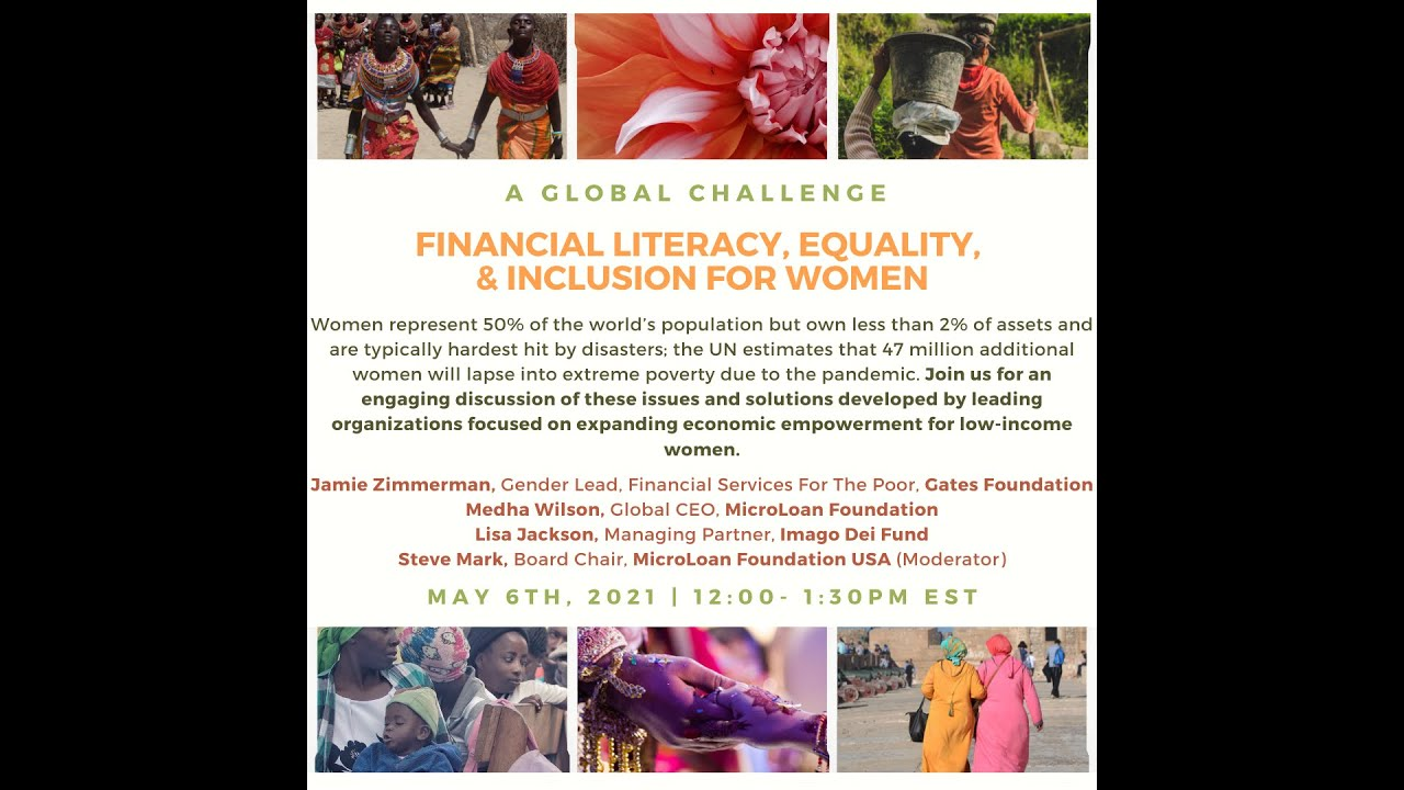 Global Financial Literacy, Equity, and Inclusion for Women
