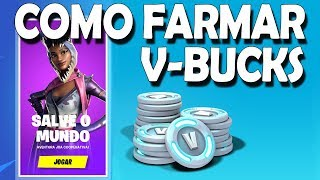 HOW TO FARMAR V-BUCKS IN THE SAVE THE WORLD-POPCORN FORTNITE