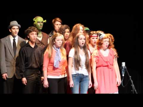 Mixolydians ~ Sherwood High School ~ Broadway Bits 2014 ~ Bravado Acapella