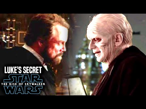 Luke's Big Secret Of Palpatine Revealed! The Rise Of Skywalker (Star Wars Episode 9)