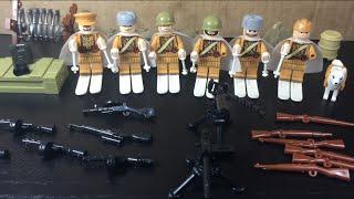 СОВЕТСКАЯ армия!! - Вторая Мировая война (ЛЕГО - аналог) /  Soviet army lego!