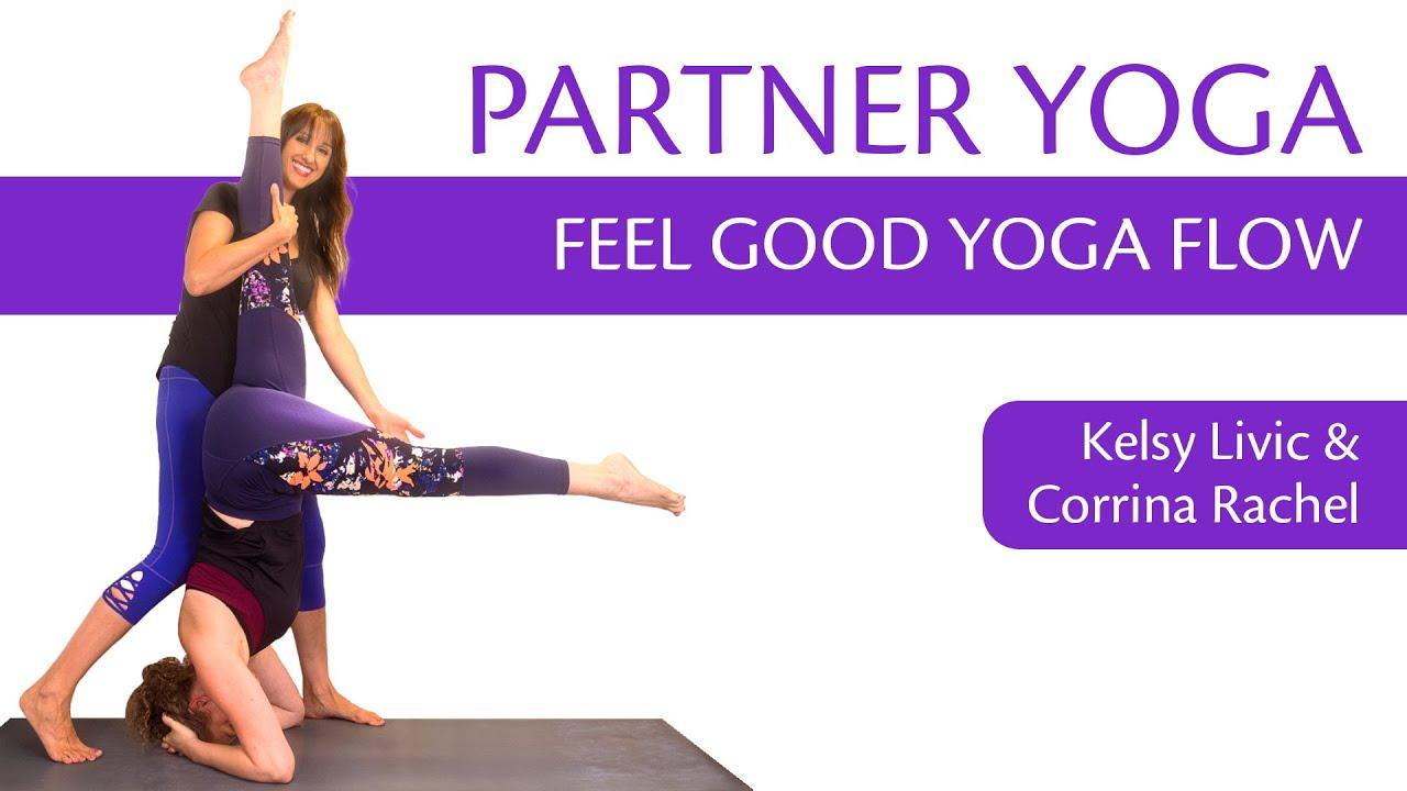 Partner Yoga Beginners, Feel Good w/ Kesly & Corrina Rachel