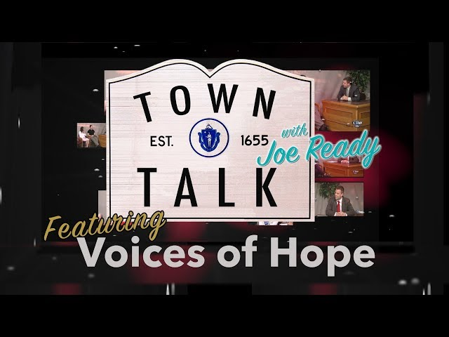 Town Talk featuring Voices of Hope - March 25, 2019