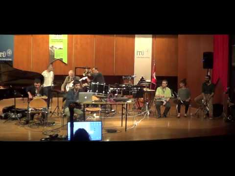 Kwartludium Ensemble Improvisation in ITU Miam Istanbul, 07.