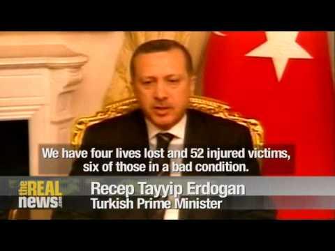 Turkey blames Kurdish PKK for bombing