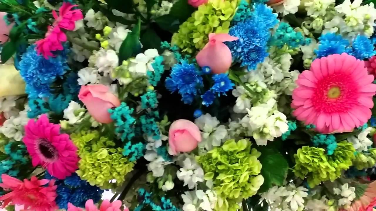 Centros De Mesa Para Fiesta De Xv Anos Con Flores Naturales Youtube