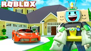 Spending 1 BILLION Dollars On A ROBLOX Mansion *MOST EXPENSIVE*